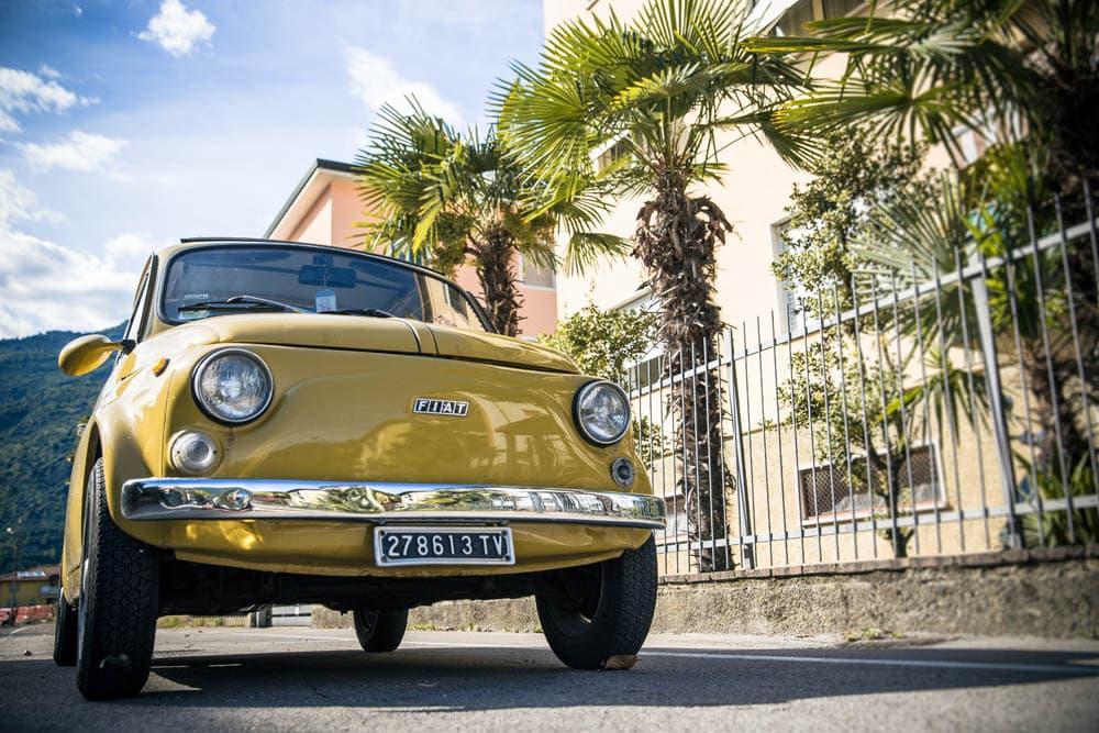 Alter Fiat 500 Italien