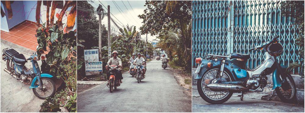 Motorräder in Vietnam