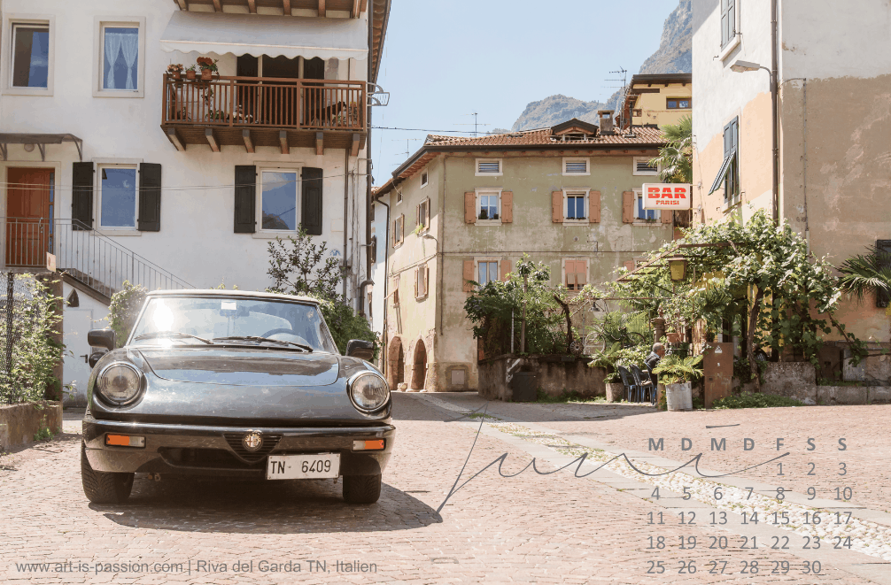 konstenloser Wallpaper Alfa Romeo in Riva del Garda