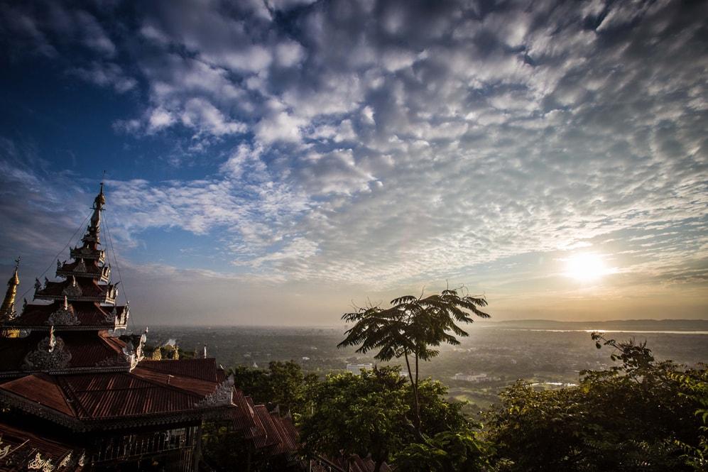 Mandaly Hill, Myanmar, Burma,
