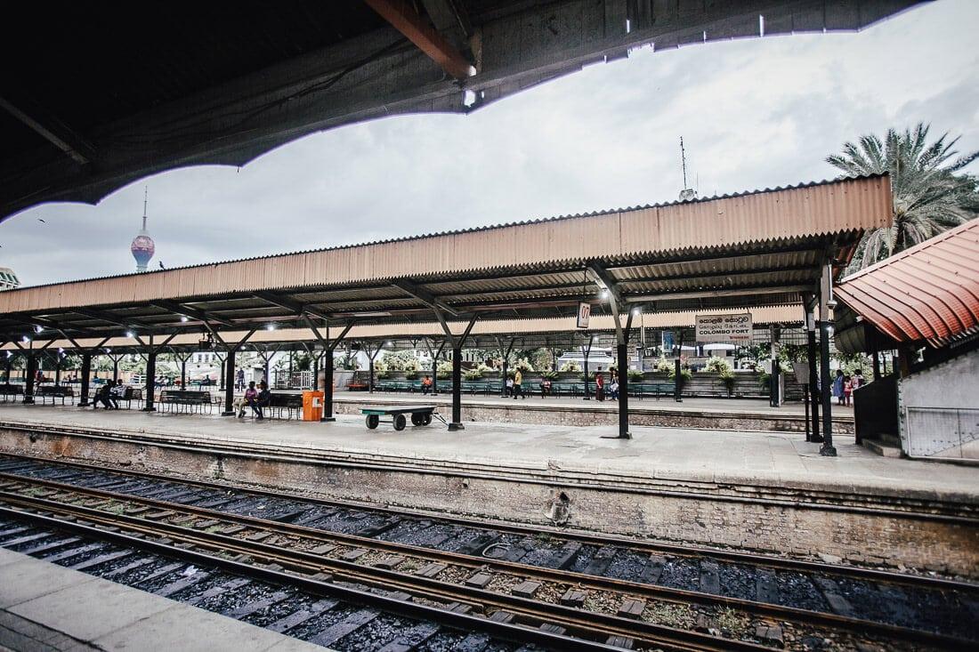 Bahnhof von Colombo, Sri Lanka