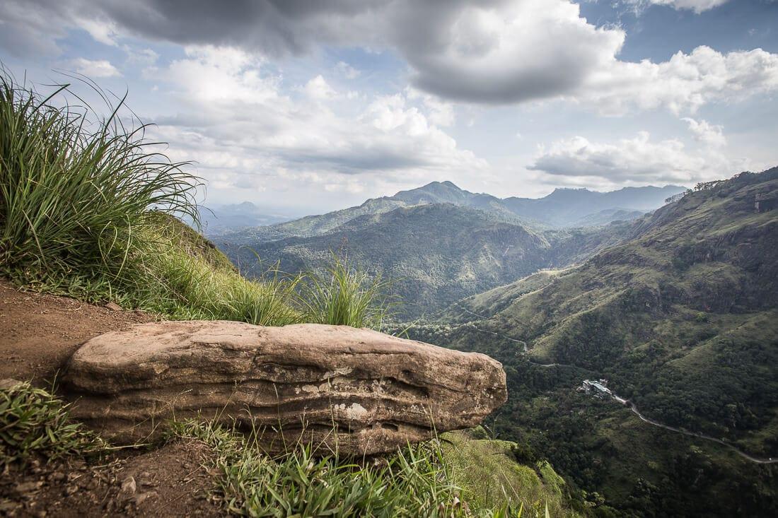 Ausblick vom Ellas Rock in Sri Lanka