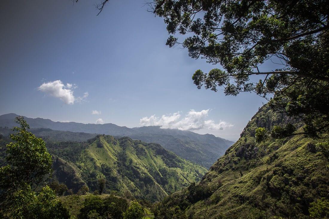 Landschaft von Sri Lanka