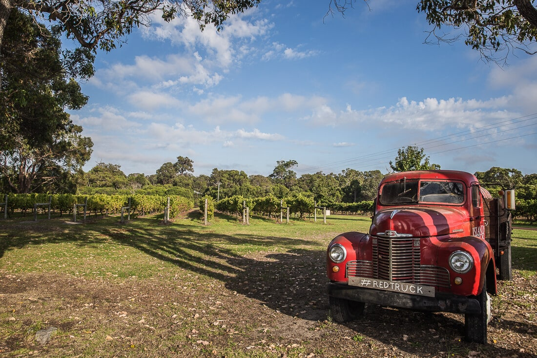 Margaret River, Red Truck
