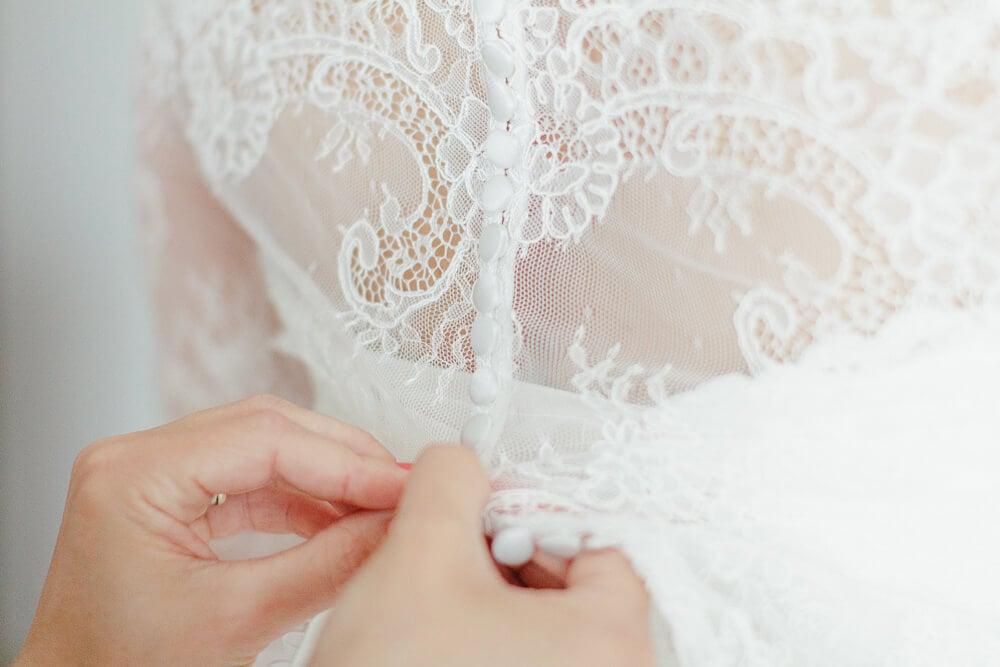 Getting Ready das Anziehen der Braut