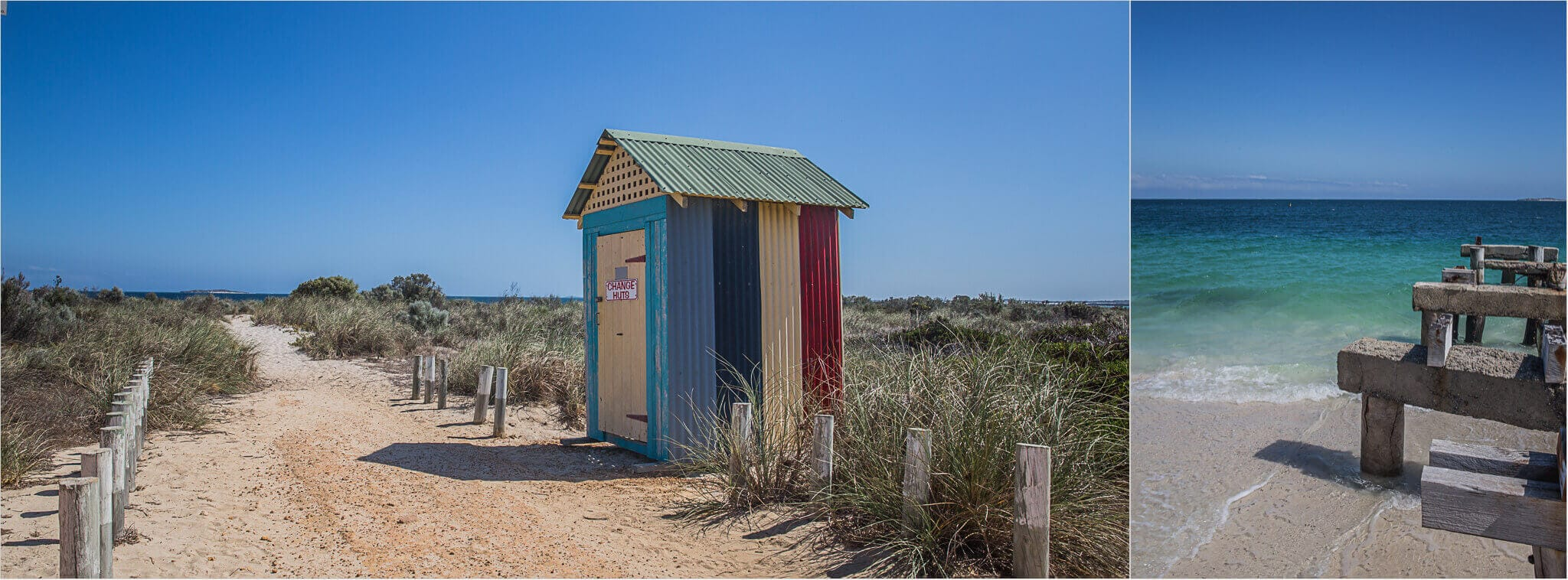Jurien Bay Changing Hut