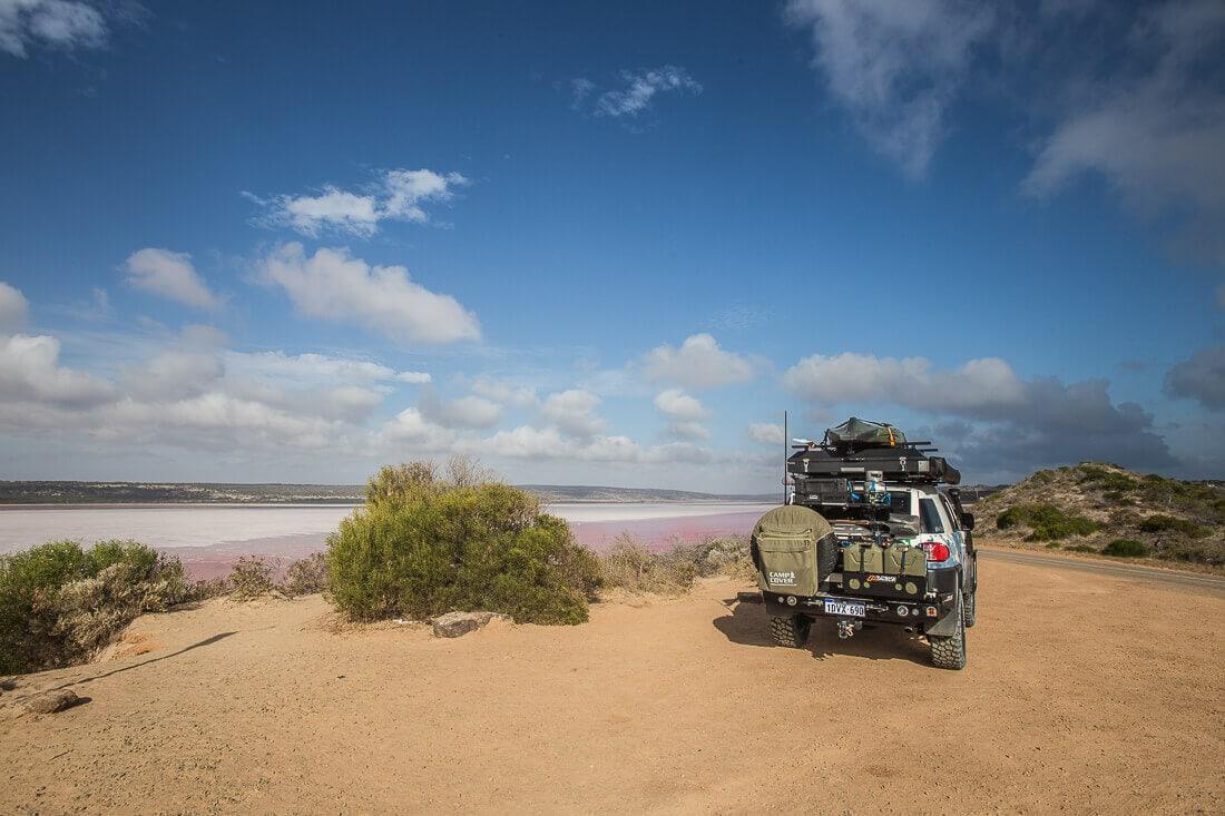 Pink Lake, Australien