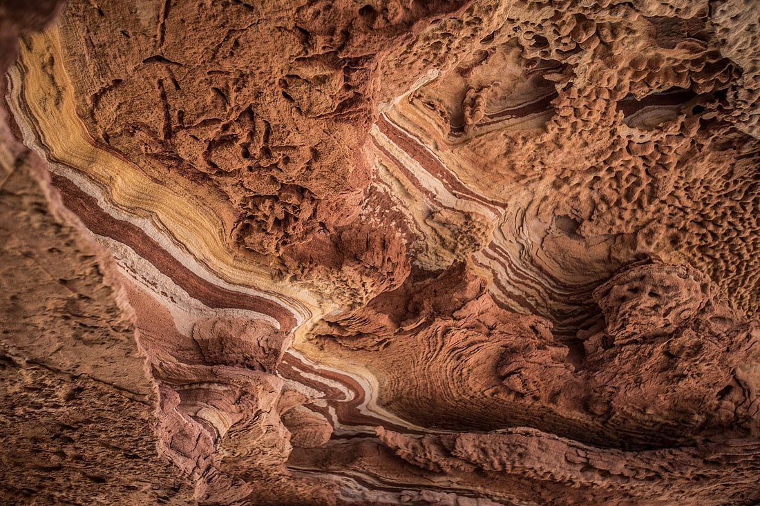 Felsmalerei im Kalbarri Nationalpark