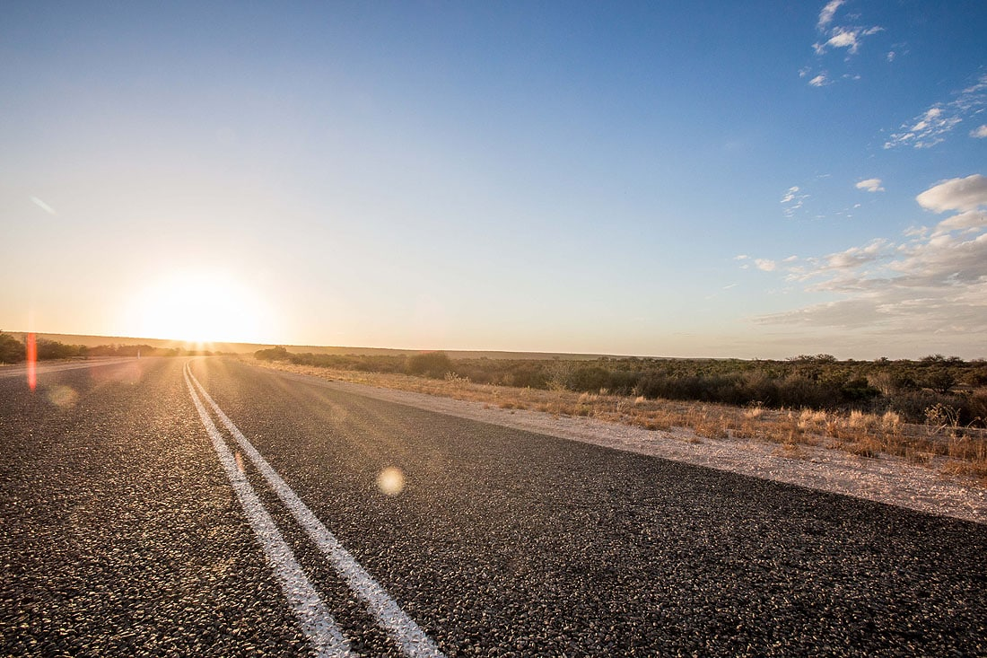 Straße Western Australia