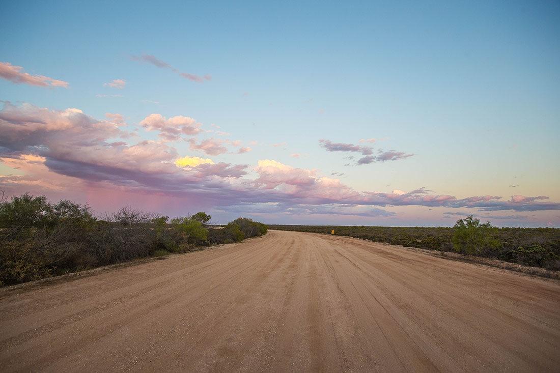 Sandstraße Western Australia